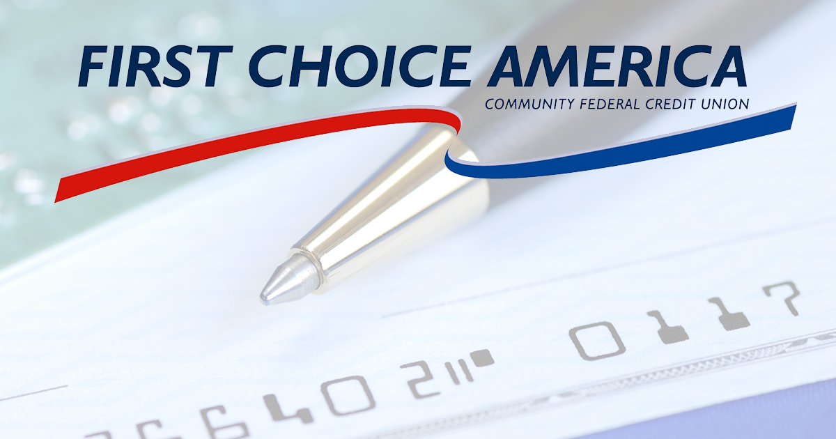 Checking Account Banking First Choice America