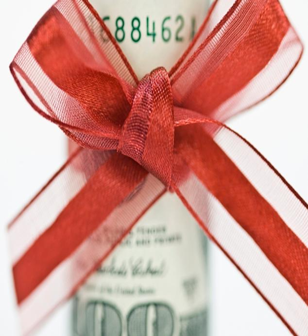 Money with Ribbon