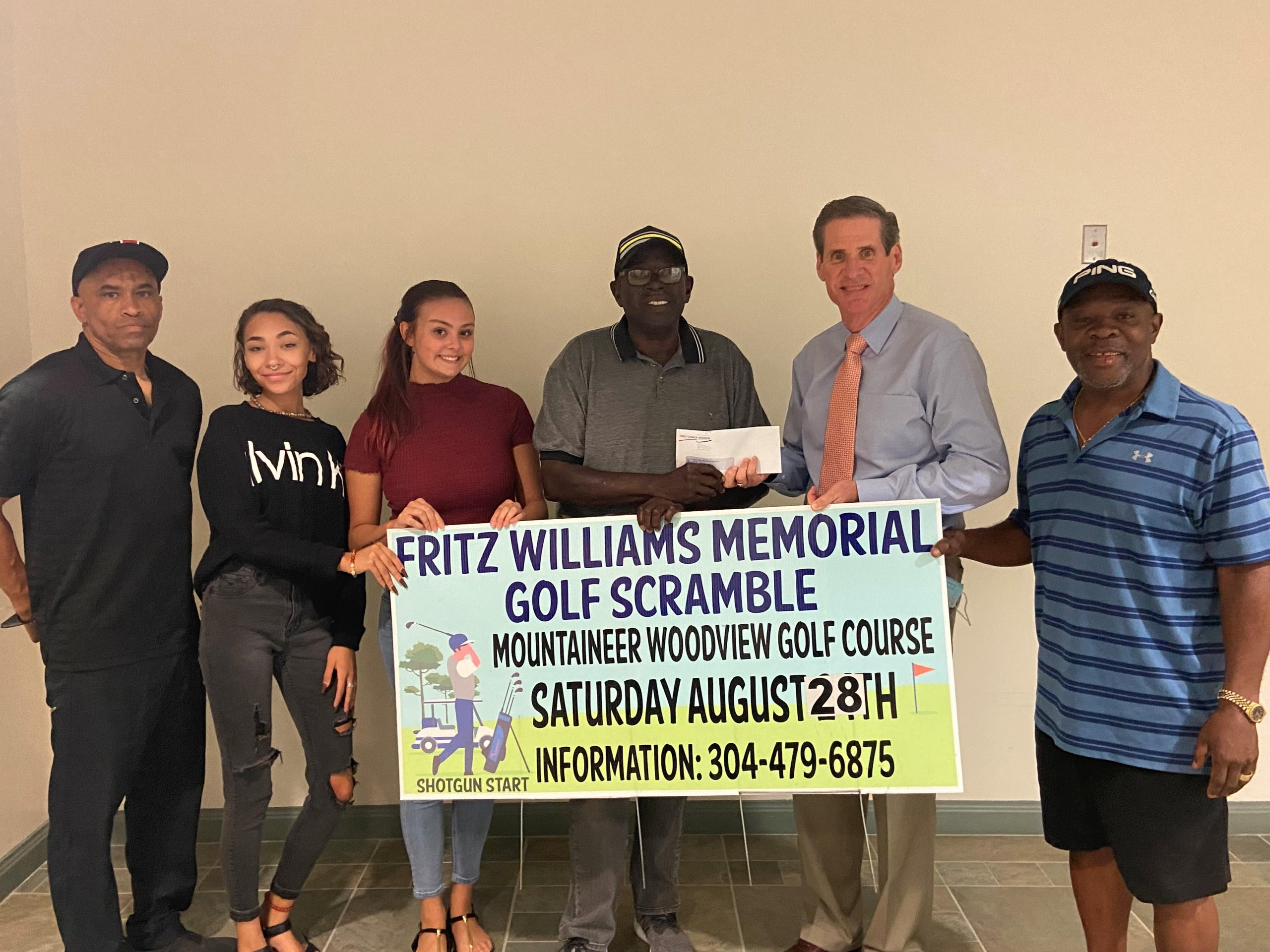 Fritz Williams Golf Scramble Donation
